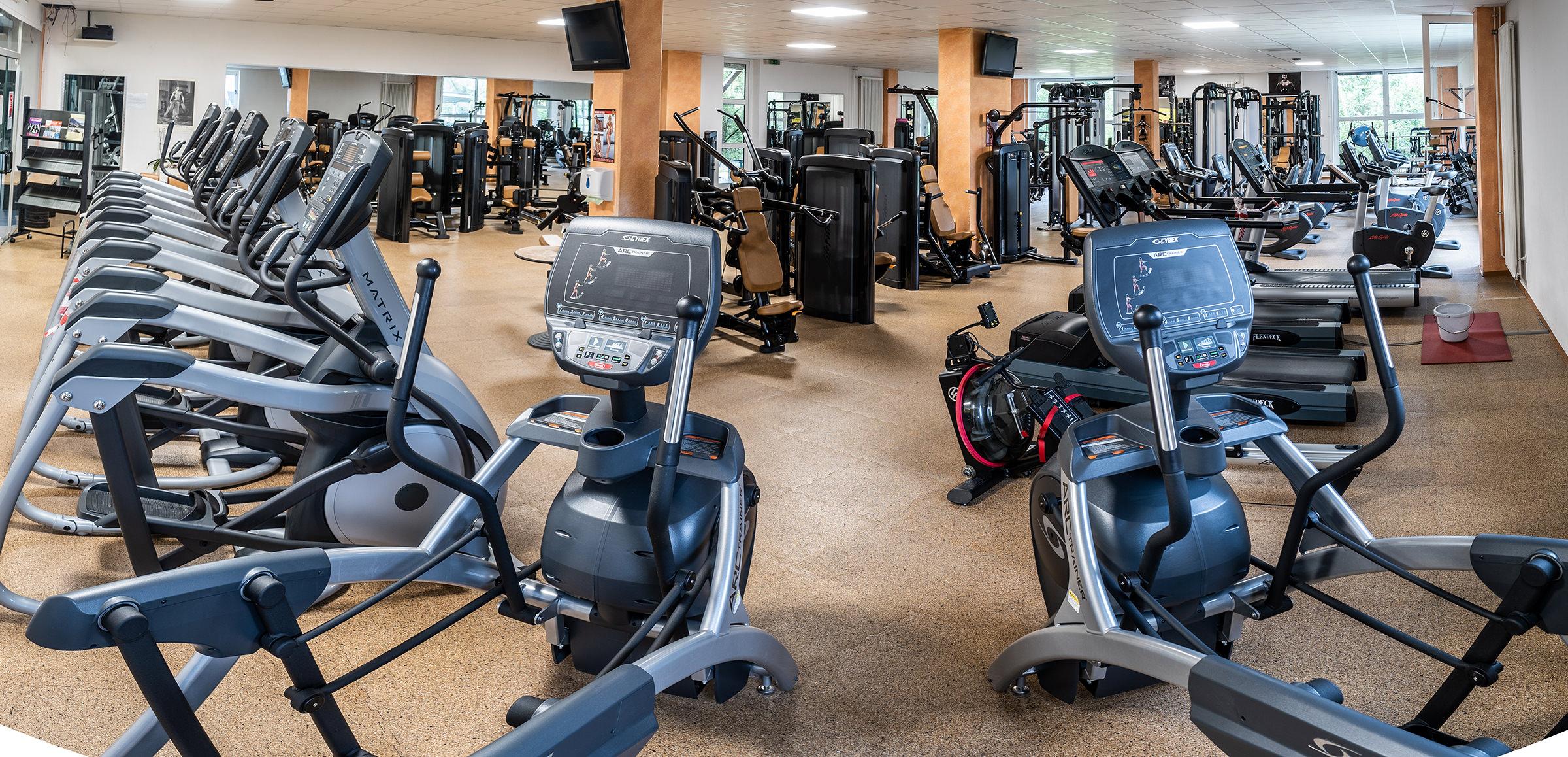 Modernste Fitnessgeräte im Sportpark Nord Nürnberg
