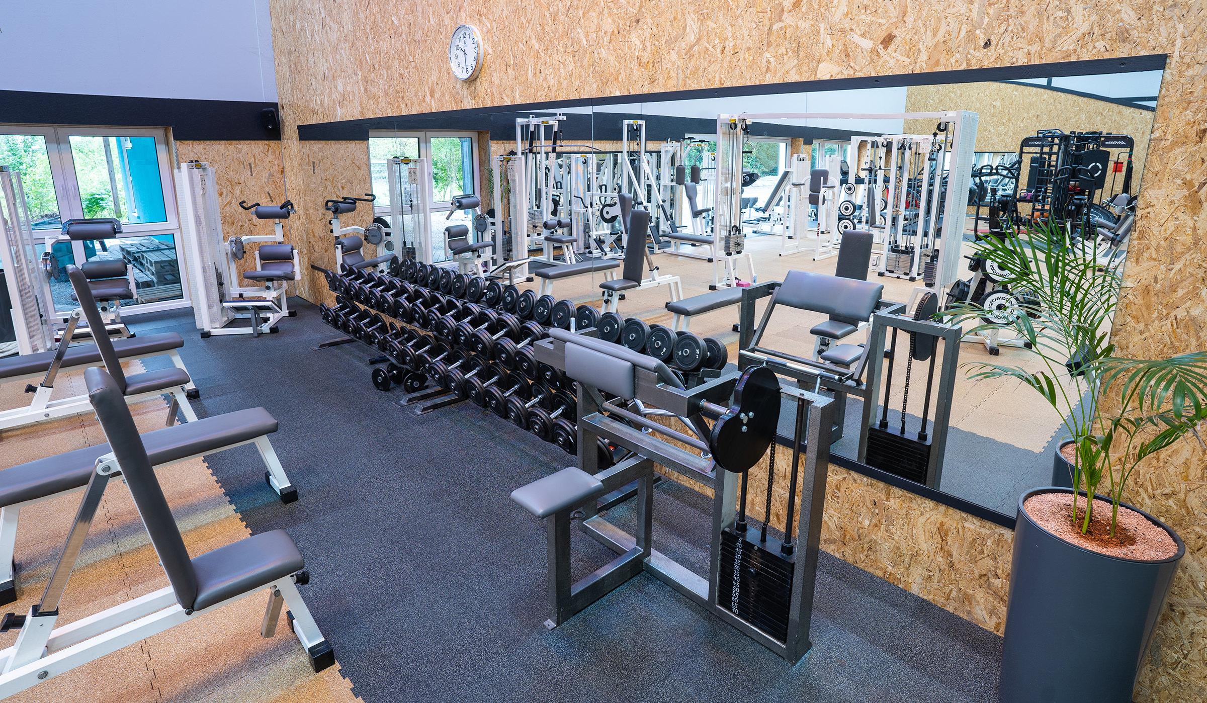 Fitnessbereich im Sportpark Nord Nürnberg