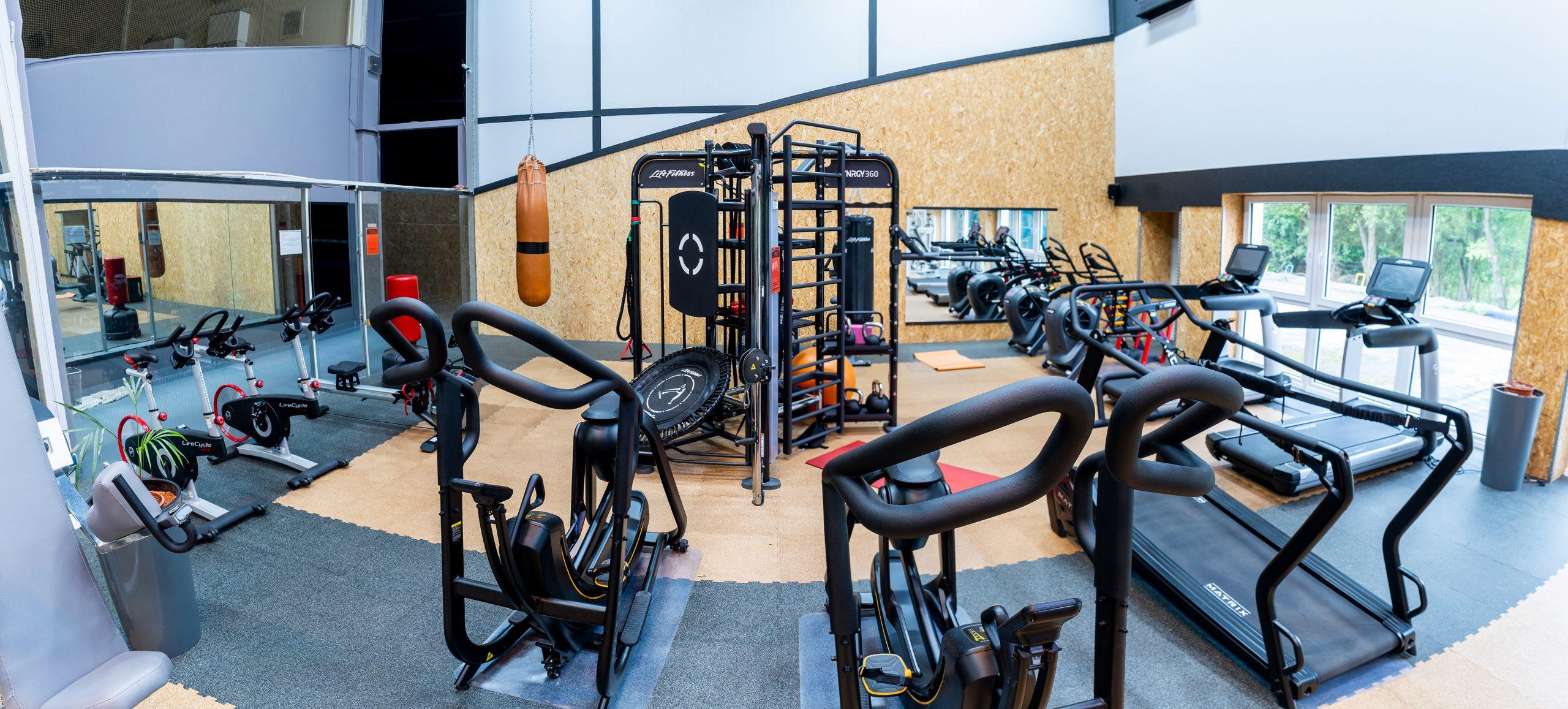 Fitnessbereich - Laufbänder im Sportpark Nord Nürnberg